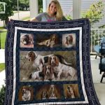 Theartsyhomes Basset Hound Qui15001 3D Personalized Customized Quilt Blanket ESR41