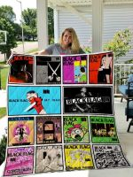 Theartsyhomes Black Flag 3D Personalized Customized Quilt Blanket ESR8