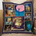 Theartsyhomes Book F1302 84o34 3D Personalized Customized Quilt Blanket ESR9