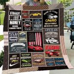 Theartsyhomes Camaro Collection Art 3D Personalized Customized Quilt Blanket ESR39
