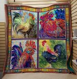 Theartsyhomes Chicken 8 3D Personalized Customized Quilt Blanket ESR15