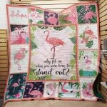 Theartsyhomes Flamingo M0602 83o38 3D Personalized Customized Quilt Blanket ESR26