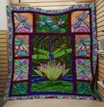 Theartsyhomes Dragonfly V24 3D Personalized Customized Quilt Blanket ESR6