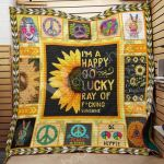 Theartsyhomes Cute Bunny And Flower Pm-Qct00020 3D Personalized Customized Quilt Blanket ESR27