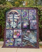 Theartsyhomes Dragonfly V25 3D Personalized Customized Quilt Blanket ESR7