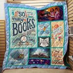 Theartsyhomes Book D1002 84o36 3D Personalized Customized Quilt Blanket ESR33