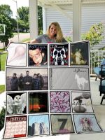 Theartsyhomes Deftones 3D Personalized Customized Quilt Blanket ESR6
