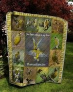 Theartsyhomes Bird: You Have A Place In My Heart 3D Personalized Customized Quilt Blanket ESR26