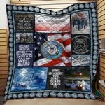 Theartsyhomes Coast Guard 3D Personalized Customized Quilt Blanket ESR27