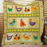 Theartsyhomes Chicken F1301 85o41 3D Personalized Customized Quilt Blanket ESR22