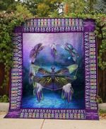 Theartsyhomes Colorfull Dragonfly V3 3D Personalized Customized Quilt Blanket ESR50