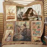 Theartsyhomes Book D1302 84o31 3D Personalized Customized Quilt Blanket ESR42