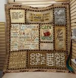 Theartsyhomes Coffee open 3D Personalized Customized Quilt Blanket ESR37