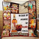 Theartsyhomes Captain Morgan Wine Alcoholic P203 3D Personalized Customized Quilt Blanket ESR36