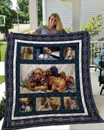 Theartsyhomes English Cocker Spaniel 1 3D Personalized Customized Quilt Blanket ESR32