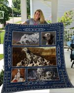 Theartsyhomes Dalmatian 1 3D Personalized Customized Quilt Blanket ESR47