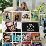 Theartsyhomes Elvis Costello 3D Personalized Customized Quilt Blanket ESR24