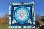 Theartsyhomes Dreamcatcher Fabric 3D Personalized Customized Quilt Blanket ESR40