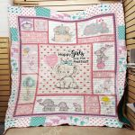 Theartsyhomes Elephant F0401 84o41 3D Personalized Customized Quilt Blanket ESR35