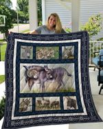 Theartsyhomes DONKEY 3D Personalized Customized Quilt Blanket ESR44