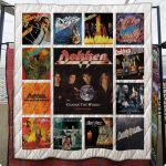 Theartsyhomes Dokken 3D Personalized Customized Quilt Blanket ESR12