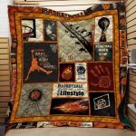 Theartsyhomes Book F1205 82o35 3D Personalized Customized Quilt Blanket ESR2