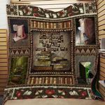 Theartsyhomes Book D0705 82o41 3D Personalized Customized Quilt Blanket ESR9