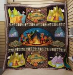Theartsyhomes Camping Night V7 3D Personalized Customized Quilt Blanket ESR27
