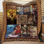Theartsyhomes Book D1001 84o34 3D Personalized Customized Quilt Blanket ESR11