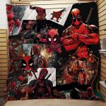 Theartsyhomes Deadpool #Bnov-13a 3D Personalized Customized Quilt Blanket ESR14