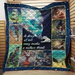 Theartsyhomes Book Writer D1201 83o06 3D Personalized Customized Quilt Blanket ESR41