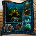 Theartsyhomes Cthulhu Dql-Qdt01 3D Personalized Customized Quilt Blanket ESR5