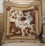 Theartsyhomes Coffee alway but idia 3D Personalized Customized Quilt Blanket ESR32