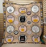 Theartsyhomes Cat is always right 3D Personalized Customized Quilt Blanket ESR45