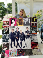 Theartsyhomes Duran Duran 3D Personalized Customized Quilt Blanket ESR4