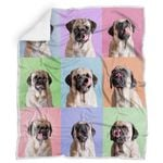 Theartsyhomes Cute Pug 3D Personalized Customized Quilt Blanket ESR43