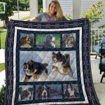 Theartsyhomes Bernese Mountain Dog Qui16001 3D Personalized Customized Quilt Blanket ESR11