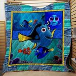 Theartsyhomes Finding Dory V1 3D Personalized Customized Quilt Blanket ESR22