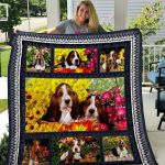 Theartsyhomes Basset Hound Qui15007 3D Personalized Customized Quilt Blanket ESR49