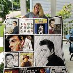 Theartsyhomes Elvis Presiey 3D Personalized Customized Quilt Blanket ESR27