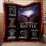 Theartsyhomes Dear God Mt-Qht0007 3D Personalized Customized Quilt Blanket ESR36