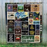 Theartsyhomes Camping Art 3D Personalized Customized Quilt Blanket ESR5