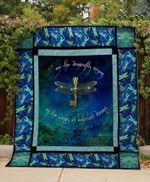 Theartsyhomes Dragonfly Rising 3D Personalized Customized Quilt Blanket ESR15