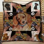 Theartsyhomes Beautiful Dog 3D Personalized Customized Quilt Blanket ESR45