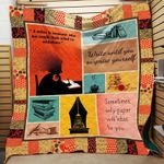 Theartsyhomes Book Surprise 3D Personalized Customized Quilt Blanket ESR20