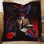 Theartsyhomes Death Note Th175 3D Personalized Customized Quilt Blanket ESR45