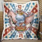 Theartsyhomes Dumbo Film 05 3D Personalized Customized Quilt Blanket ESR44