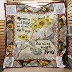 Theartsyhomes Elephant Mom M0902 82o41 3D Personalized Customized Quilt Blanket ESR22