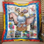 Theartsyhomes Dumbo Film 03 3D Personalized Customized Quilt Blanket ESR42