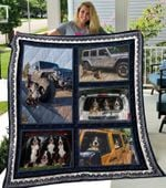 Theartsyhomes Bernese Mountain Dog 3D Personalized Customized Quilt Blanket ESR12
